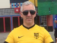 Hélder Silva, adepto do Lusitânia de Lourosa (Lusitânia Lourosa)