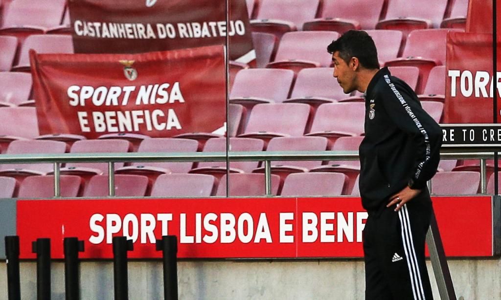 Bruno Lage (Benfica) (Manuel de Almeida/Lusa)