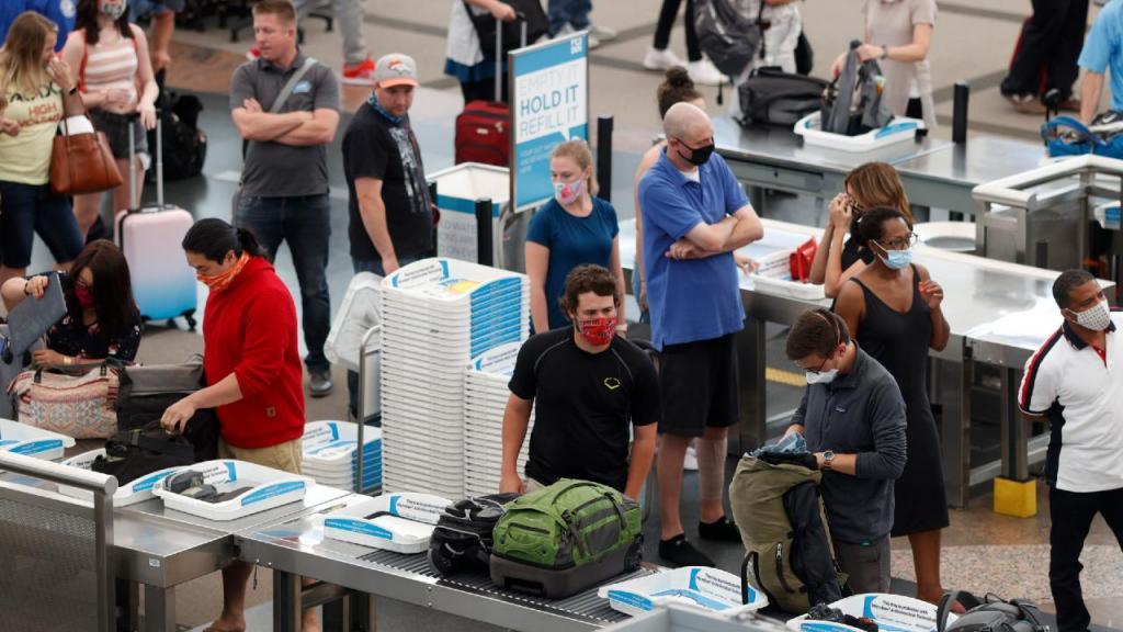 Covid-19 nos aeroportos