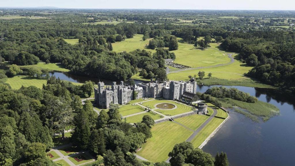 Castelo de Ashford, na Irlanda