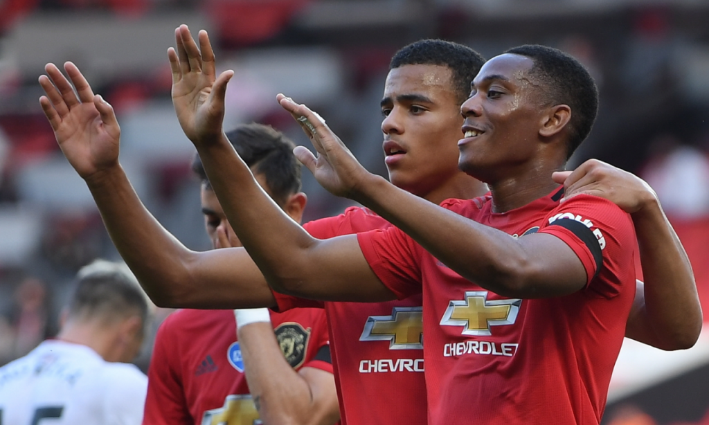 Manchester United-Sheffield United (Michael Regan/EPA)