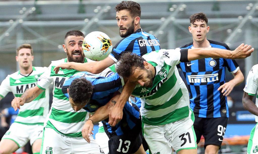Inter-Sassuolo (Matteo Bazzi/EPA)