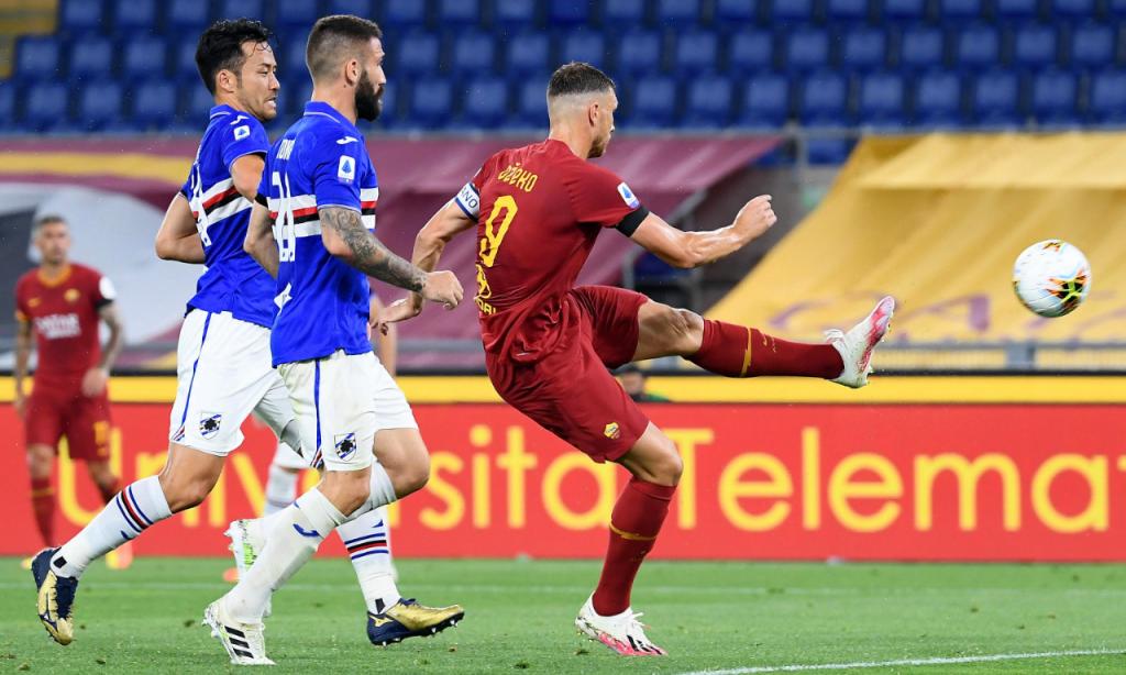 Roma-Sampdoria (Ettore Ferrari/EPA)