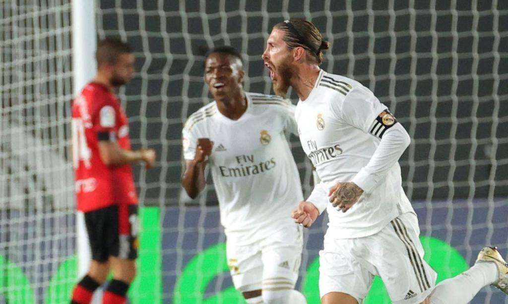 1. Sergio Ramos, Real Madrid: 12 golos