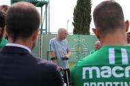 Mathieu encerra a carreira (fotos: Sporting)