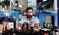 PSP explica operação «Sem Rosto» em que sete elementos dos No Name Boys foram detidos (ANTÓNIO COTRIM/LUSA)