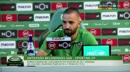 Rúben Amorim não revela quem vai render Mathieu