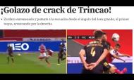 Imprensa espanhola rendida a Trincão