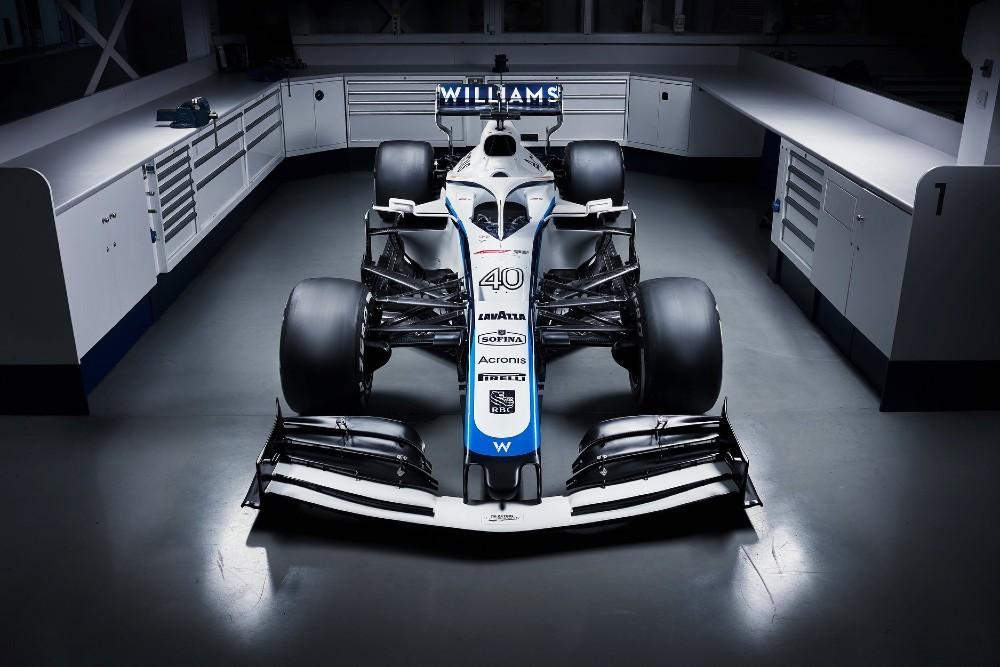 Novo Williams FW43 (Reprodução Williams Racing Twitter)