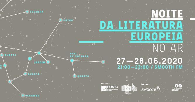 Noite da Literatura Europeia 2020 no Ar