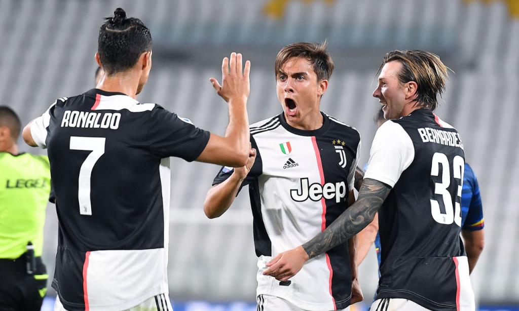 Juventus-Lecce (Alessandro Di Marco/EPA)