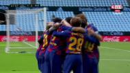 Mais uma assistência de Messi, Suárez bisa e Barça volta à vantagem