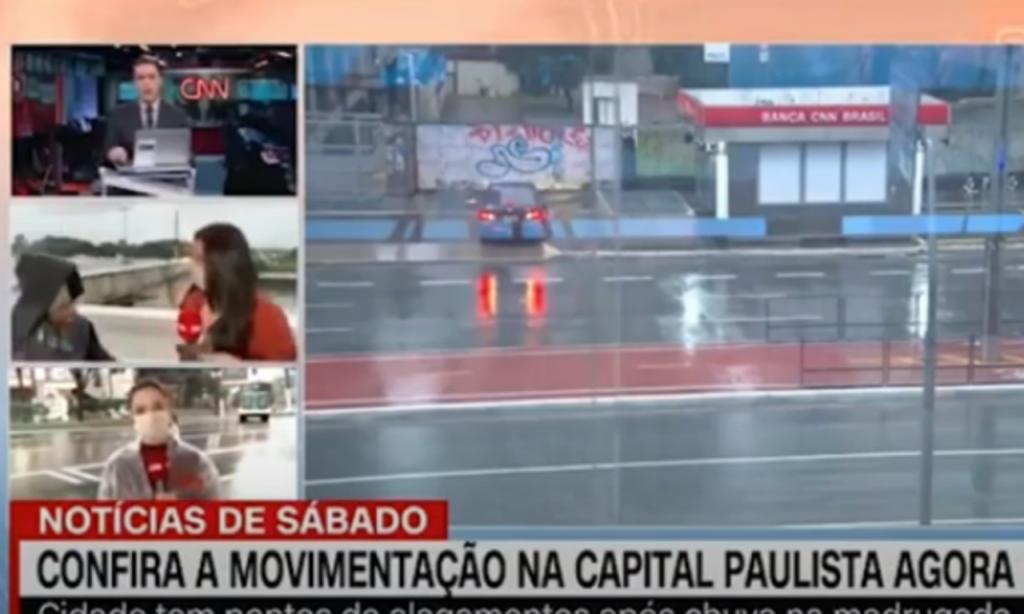 Jornalista assaltada no Brasil (CNN)