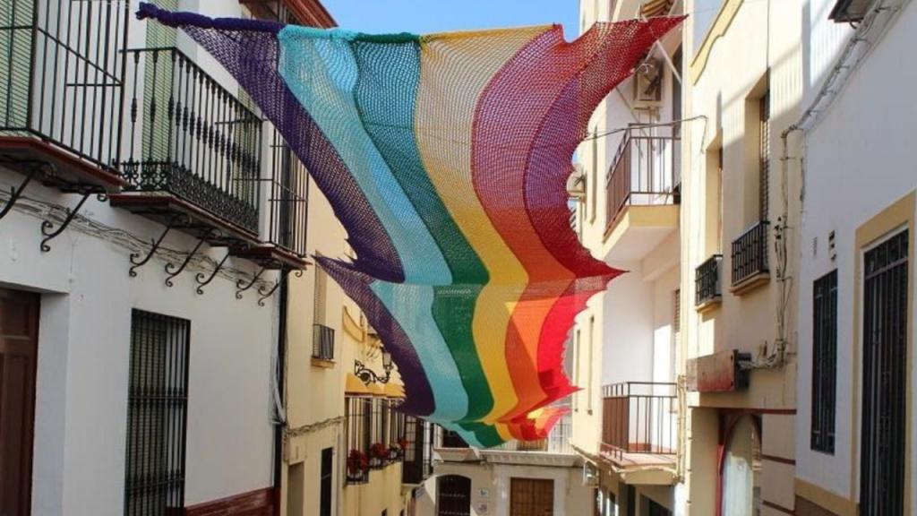 Bandeira LGBT em Espanha