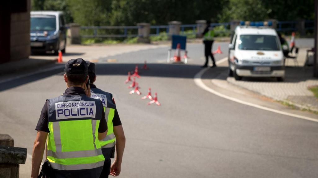 Fronteira entre Portugal e Espanha em Chaves
