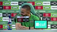 Perguntaram a Amorim se trocava o Sporting pelo Benfica e o treinador reagiu assim