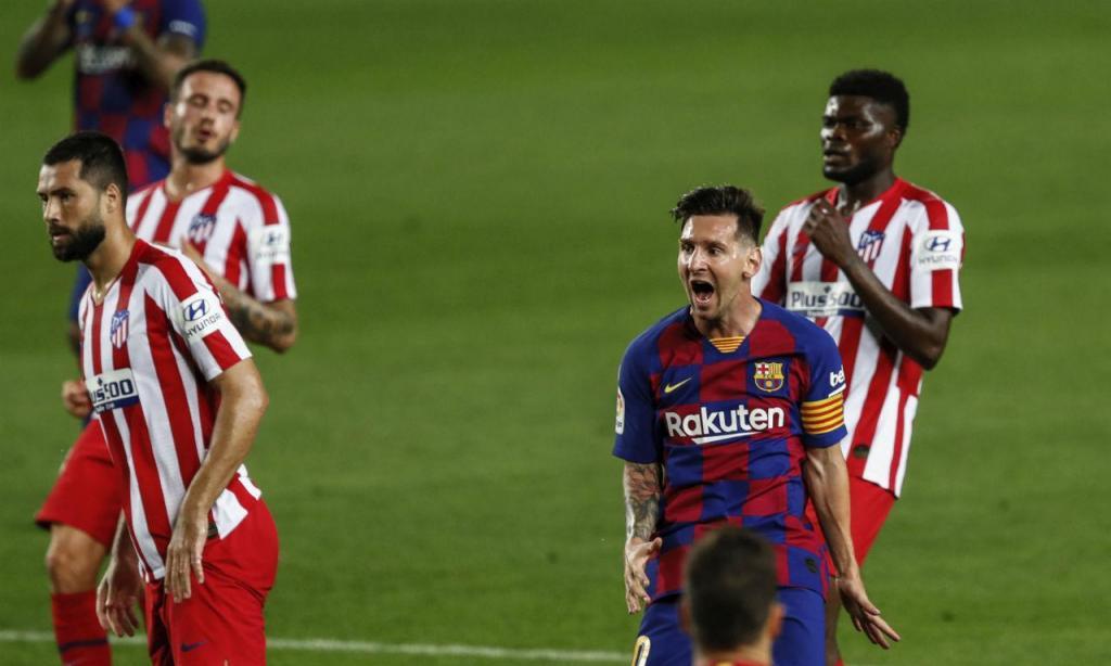 Barcelona-Atlético de Madrid (AP)