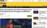 Imprensa inglesa rendida a Bruno Fernandes