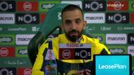 Rúben Amorim e Joelson: «Espero um grande jogador no futuro»