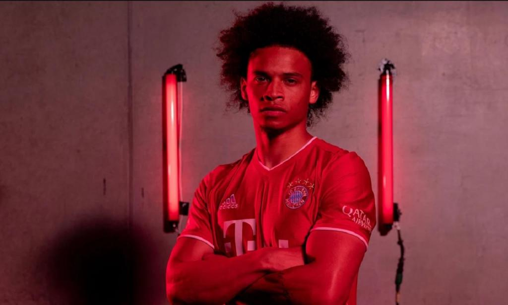 Leroy Sané (foto Bayern Munique)