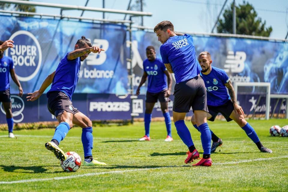 Treino do FC Porto