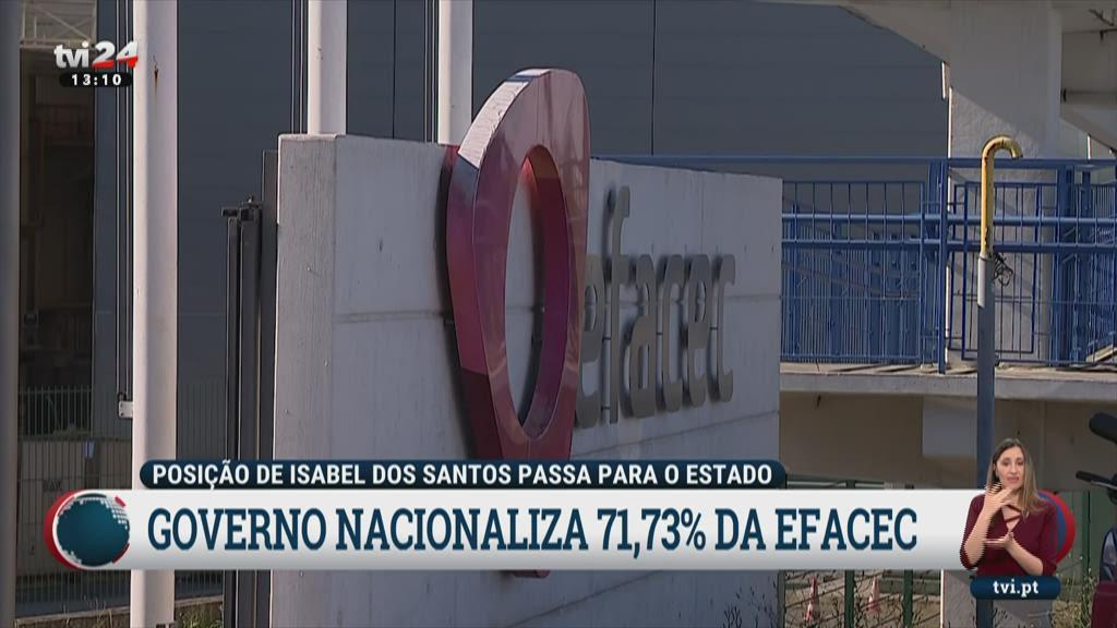 Sindicato queria que a nacionalização da Efacec fosse definitiva