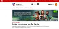 A exibição de João Félix ante o Maiorca vista pela imprensa de Espanha