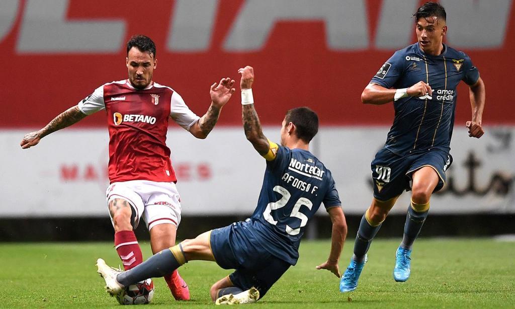 Sp. Braga-Desportivo das Aves (Hugo Delgado/Lusa)