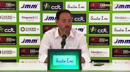 «O Sporting dominou, mas nós controlámos perfeitamente o jogo»