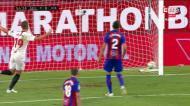 Sevilha vence Eibar com golo de Lucas Ocampos