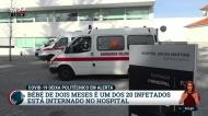 Covid-19: bebé de dois meses entre os 20 infetados do Politécnico da Guarda