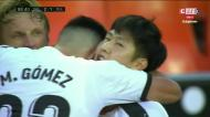 Golaço de Kang-in Lee resgata três pontos para o Valência