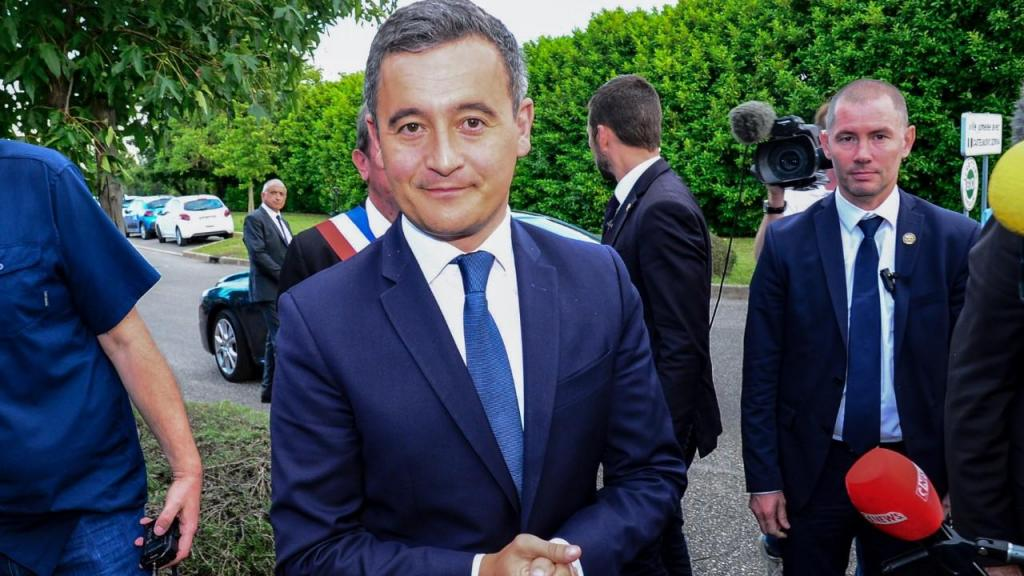 Gérald Darmanin, ministro do Interior francês