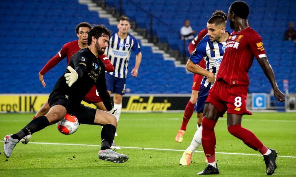 Brighton & Hove Albion-Liverpool