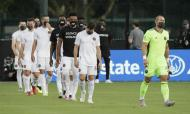 Cerimónia contra o racismo da MLS antes do Orlando City-Inter Miami (AP Photo/John Raoux)