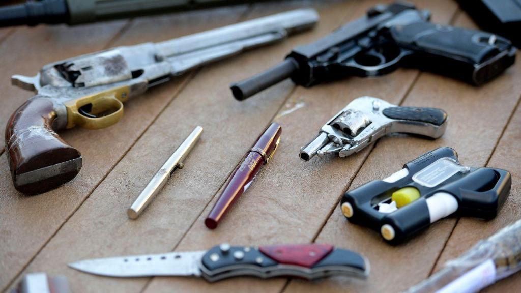 Ministro da Administração Interna marca presença em ação de destruição de armas