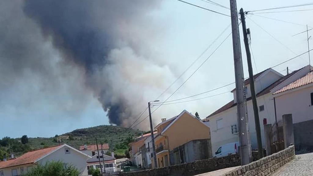 Incêndio em Riodades