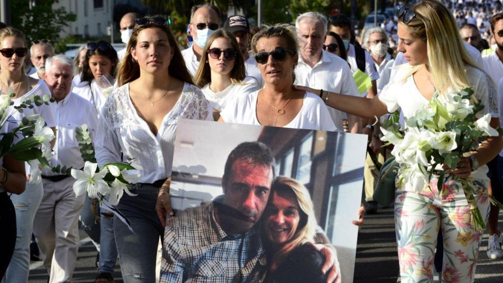 Marcha em memória de Philippe Monguillot