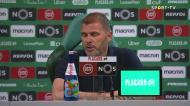 «O Sporting não conseguiu descobrir espaços para a nossa baliza»