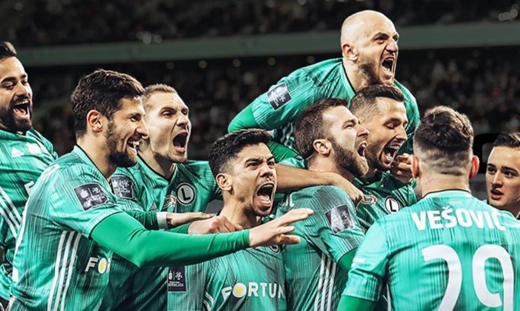 Legia Varsóvia é campeão polaco 2019/2020 (Foto: Legia Varsóvia)