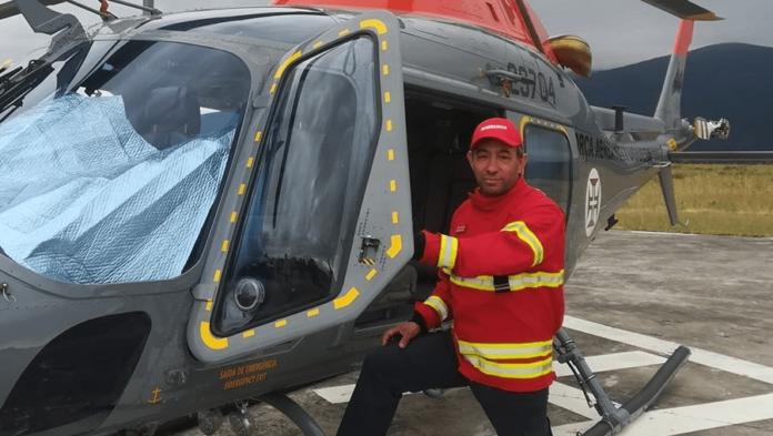 Chefe José Augusto do Corpo de Bombeiros de Miranda do Corvo