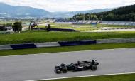 Lewis Hamilton na Áustria (AP)