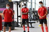 Juniores do Benfica regressaram ao trabalho