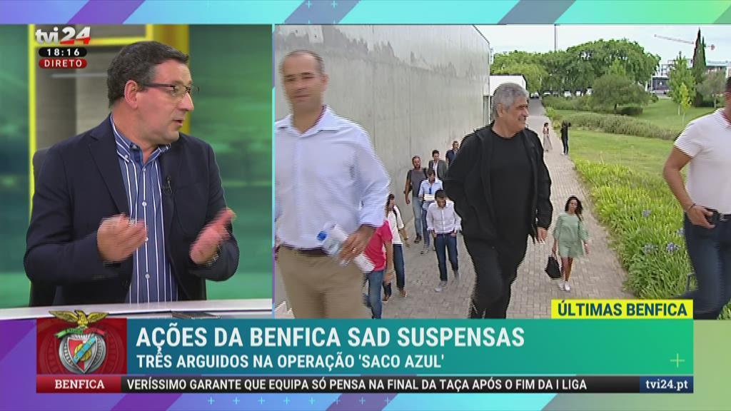 """Luís Filipe Vieira: """"São casos em cima de casos a juntar a anos de suspeições"""""""
