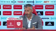 «A eficácia do Benfica ditou a diferença no resultado»