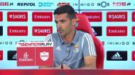 «Não vi nem vejo grande necessidade de motivar os jogadores do Benfica»