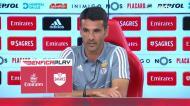Nélson Veríssimo dedica vitória do Benfica a Luís Filipe Vieira