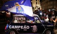 FC Porto é campeão nacional 2019/2020. Festa nos Aliados (Estela Silva/Lusa)