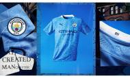 O novo equipamento do Manchester City (Man. City)