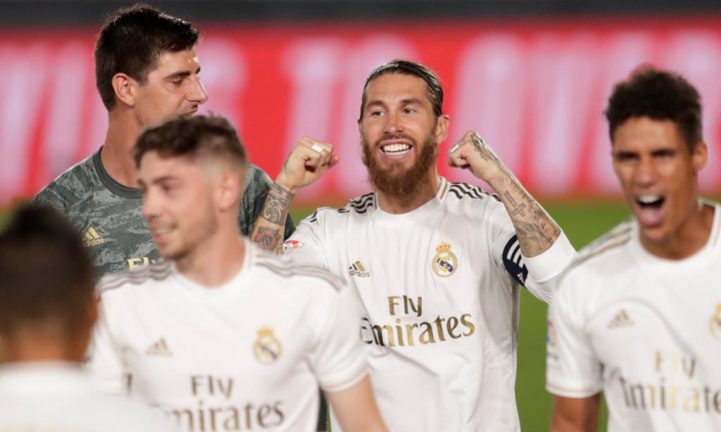 Real Madrid campeão espanhol 2019/2020 (AP)